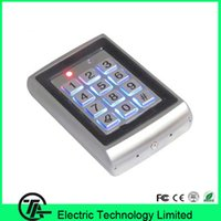 Wholesale Good quality face waterproof users standalone access control ID card single door access control M01