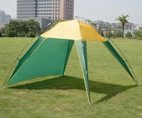 Wholesale 3 People Outdoor Sport Hunting Fishing Camping Sun Shelter Beach Awning Inclined Sun Shelter Pergola Canopy Tent