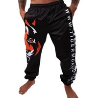 Wholesale Hot sale MA Tiger Muay Thai sports and leisure pants white and black combat sports fighting shorts mma Hayabusa cheap mma shorts bad boy