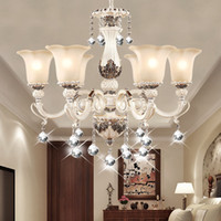 Wholesale New Arrival Hot Luxurious European Style Chandelier Arms Diameter cm Living Room Luxury Lamp Lustres De Chandeliers