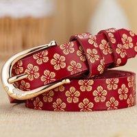 belt buckles manufacturers - Ladies belt manufacturer embossed leather belts for women decorated Korean fashion designer simple split Joker pin buckle womens belt
