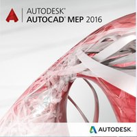autocad mep - Factory Full cracked Autodesk AUTOCAD MEP bit English for win English Language software Plastic color box packaging