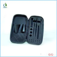 application leather cases - Sweet application ecig mini DIY tool bags kit bags convinence leather tools package case for ecig mod coil atomizer