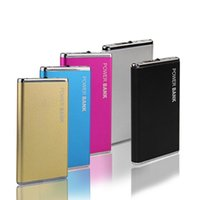 battery case blackberry - DOSHIN New Power Bank mAh Portable Metal Case Li Polymer External Battery Charger Powerbank For All Phone