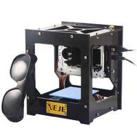 Wholesale 500mW USB Laser Engraver Box Laser Engraving Machine DIY Laser Printer Support XP Windows Windows Windows