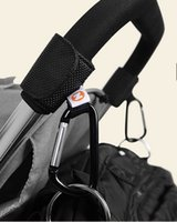 Wholesale 2Pcs Baby Stroller Pushchair Pram Mammy Bag Shopping Bag Diaper Bag Hanger Hooks Multi Function Stroller Accessories