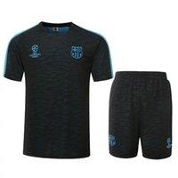 best dry pants - Soccer tracksuits Best quality survetement football short sleeve training suit sweat top soccer jogging pant chandal football pant