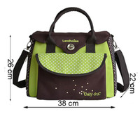 Wholesale Baby diaper Bag for mom Multifunction Women messenger nappy changing bag waterproof stroller Wheelchair baby bag