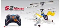 Wholesale Syma S2 RC Pegasus RC Helicopter Remote control flying horse toy with GRYO RTF Cheap toy figure