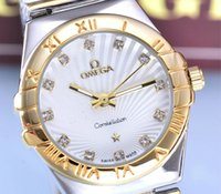 Wholesale Famous Brand New Luxury Women Jewelry Watch Omega Japan Quartz Movement Stainless Steel Band With Good Quality Rolex Wristwatch