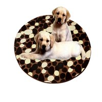 Wholesale Plush velvet coral printing pad suitable for pets sleep play And non slip protection floor manufacturers Orders Are Welcome