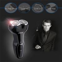 Wholesale Shaver Men Electric Shaving Razor Beard Mustache Trimmer Hair Clipper Rarizonaor USB Rechargeable Shaver