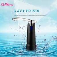 abs water pumps - Rechargeable Bottle Pump Electric Drinking Water Bottles ABS Dispenser Suction Unit Device Kitchen Tools