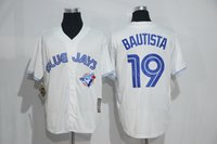 best mens shorts - New Style Toronto Blue Jays Jerseys Mens Jose Bautista White Cool Base Baseball Jersey Accept Mixed Orders Best Quality