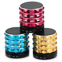 best wireless pc card - Subwoofer HI FI Speakers Bluetooth Mini Speaker Loud Portables Wireless Handsfree Best Gift Pomotion FM TF Card USB For Mobile Phone PC