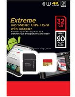 Wholesale Extreme Pro GB Class10 Micro SD TF Card MicroSDXC UHS HD Video SD Memory Card for Samsung HTC Smart Car MB s x