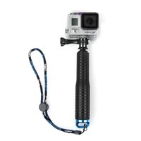 aluminum extensions - Adjustable Aluminum Telescoping Monopod Handheld Extension Selfie Stick for Gopro Hero SJ4000 SJ5000 Xiaomi Action Cameras inch