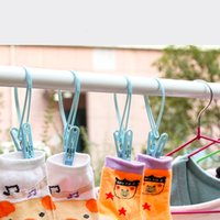 Wholesale 45 NEW Windproof Clothespins Laundry Bra Underwear Sun cure Fixed Hanging Clips HOT