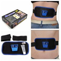 ab toner belts - Electronic Gymnastic Slimming Belt AB Muscle Exercise Toner Slim Fit Gymnic Arm Leg Abdom Waist Massager Slim Fit Toning Belt KKA641