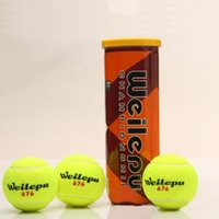 Wholesale pack High quality Competition Training Tennis Balls for Professional Tennis Game Player Good Rubber Wool