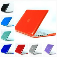 Wholesale 10 Colors Transparent Crystal Protective Hard Plastic Cover Case For Macbook Air Pro Retina All Model