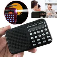 auto audio recorder - L AM Portable AM FM Radio Mini USB Speaker AM Auto Scan AM FM Receiver Radio Voice Recorder micro SD card Music Audio Player