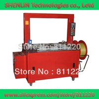 Wholesale Automatic electrical carton strapping machine PP strapping equipment tools packaging packer for industry