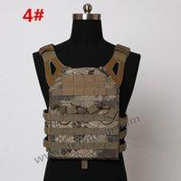 Wholesale High quality Airsoft JPC Tactical Vest Simplified Version Multicam Tactical Adjustable Vest Army Combat Gear