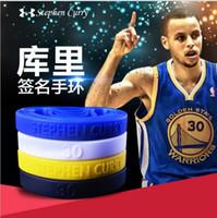 Precio de Venda de la energía del silicón del balance-2016 4colors Stephen Curry Baloncesto 30 Bandas MVP Muñequera Deportes pulsera Power Balance Energía pulsera de silicona