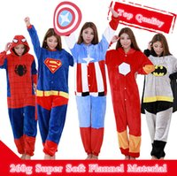 adult spiderman pyjamas - Adult Anime Onesie Kigurumi Cosplay Costume Pajamas Party Pyjamas Women Men Sleepwear Iron Man Captain America Batman Spiderman