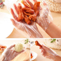 Wholesale 2016 Set Eco friendly Disposable Cleaning Gloves For Restaurant Hotel Handling Raw Chicken Multifuctional Food Plastic Gloves