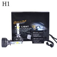 Wholesale 80W LM H1 CREE LED Lamp Headlight Kit Car Beam Bulbs V Upgrade k New Hot Sale Nice Quality High Power Popular