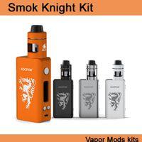 Cheap 100%Original Smok Knight Kit Smoktech Koopor Mini 2 80w TC 2600mah Mod & Helmet tank Atomizer Smoant Vaporesso e cigs Vapor kits DHL TZ704