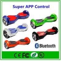 app retail - APP Bluetooth Hoverboard Scooter Smart Balance Wheel Self Balancing Electric Scooter with Bluetooth Retail Box Electric Haverboard Scooter