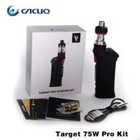 Cheap Original Vaporesso Target Pro 75W Kit E Cigarette with 75w Target Pro Vape Mods 2.5ml Target Pro Tank CCell Ceramic Coil