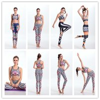 Wholesale Women Yoga Sets Tops Pants Fitness Clothing Sport Suit For Female Women s Gym Pilates Running Lulu Sports Slim Leggings Shirts