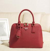 Wholesale Quality quality leather handbags color optional shell package large capacity fashion zipper handbag shoulder bag discount promotional