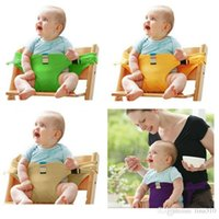 Wholesale New Portable Baby Chair Infant Seat Dining Lunch Baby Feeding Chair Seat Safety Belt Feeding High Chair Baby Chair B0589