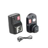 Wholesale Universal Channels Radio Wireless Remote Speedlite Flash Trigger Transmitter Receivers for Canon Nikon Olympus Pentax