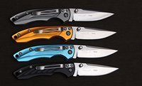Wholesale 7colors for choosing Sanrenmu paring knives RUC Folding Knife hunting camping tool