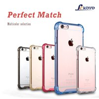 Wholesale iPhone mobile phone shell iphone6s inch transparent mobile phone sets plus hard case