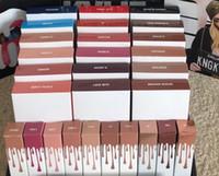 Wholesale 480sets colors Latest KYLIE JENNER LIP KIT Kylie Lip Velvetine Liquid Matte Lipstick in Red Velvet Makeup Lip Gloss Make Up