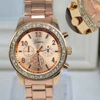 alloy shop online - Quartz Watch Woman Watches Relogio Feminino Color Gold Silver Rose Gold Plated Watches Online shopping