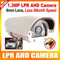 Wholesale 1 Megapixel P High Definition License Plate Recognition Vehicle Analog AHD LPR Camera mm Fixed Lens Suitable For Parking Toll Gate