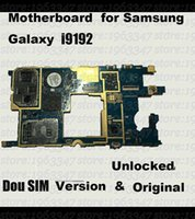 Wholesale Original Unlocked For Samsung galaxy S4 mini i9192 motherboard DOU SIM working mainboard with software logic system board