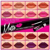 Wholesale Factory Direct Girl Matte Lip Gloss Flat Finish Matte Pigment Gloss Liquid Lipstick Long Lasting Colour Lips Makeup