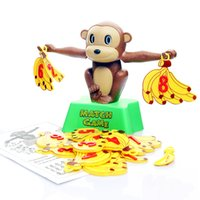 Wholesale Monkey Math Balance Scale Children Baby Learning Educational Toys Children Birthday Gift Toy Education Toy Classic Gift