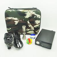 Cheap Hot E Fancier Electric Nail Dab Nail Box Kit Temperature Controller With Titanium Nail Kit for Glass Bongs Water pipe