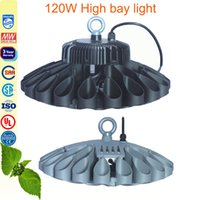Wholesale 120W high bay light sports stadium lighting led tunnel light Workshop warehouse lamp Meanwell driver Phillips chip years warranty