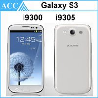 Wholesale Refurbished Original Samsung Galaxy S3 i9300 i9305 inch HD Quad Core GHz GPS Wifi G WCDMA G LTE Unlocked Smart Phone Free DHL
